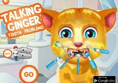 Talking Ginger la Dentist