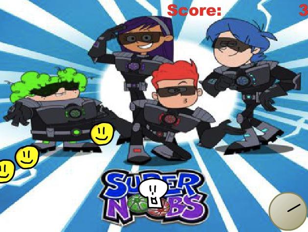 Supernoobs Jocul