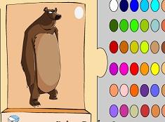 Ursul de Colorat