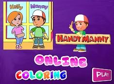 Manny Iscusitul de Colorat  2