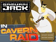 Samurai Jack Aventura in Caverna