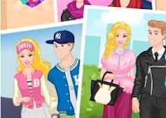 Barbie si Ken Cuplu Modern