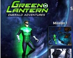 Lanterna Verde Misiune 3D