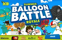 Personaje Disney Batalia Baloanelor