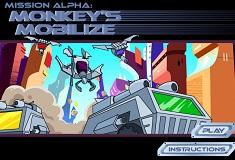 Super Maimutele Robot in Misiune