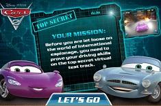 Masini Disney Cursa 3D