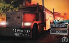 18 Roti Camion de Pompieri