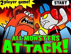 Fetitele Powerpuff Atacul Monstrilor