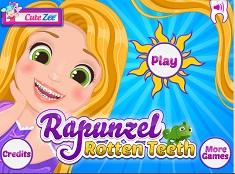 Bebelusul Rapunzel la Dentist
