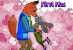 Nick si Judy Primul Sarut