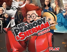 Peabody si Sherman Puzzle