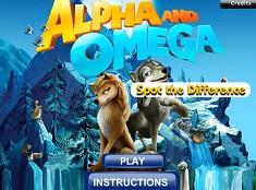 Alpha si Omega Gaseste Diferentele