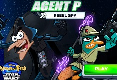 Agent P Spion Rebel in Spatiu