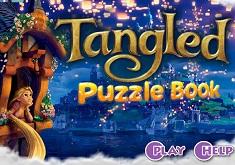 Rapunzel Cartea cu Puzzle