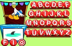 Donald Duck Cazatura in Apa