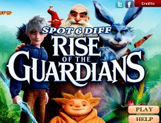Rise of The Guardians Gaseste Diferentele