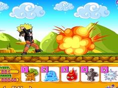 Naruto Alearga si Ataca