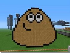 Pou in Lumea Minecraft