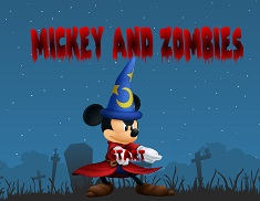 Mickey Mouse si Zombie