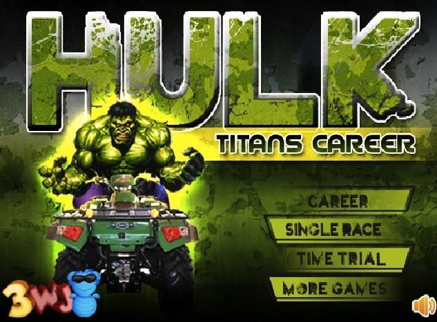 Hulk Curse 3D cu ATV