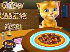 Talking Ginger la Pizza