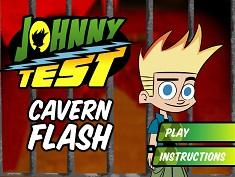 Johnny Test in Pestera