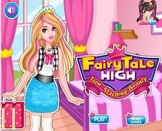 Aurora in  Fairy Tale High
