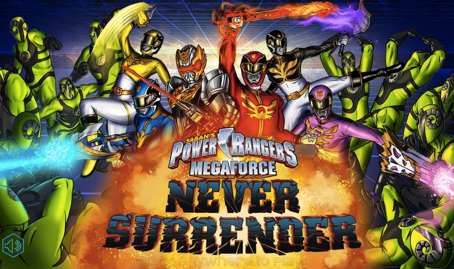 Power Rangers Megaforce Never Surender
