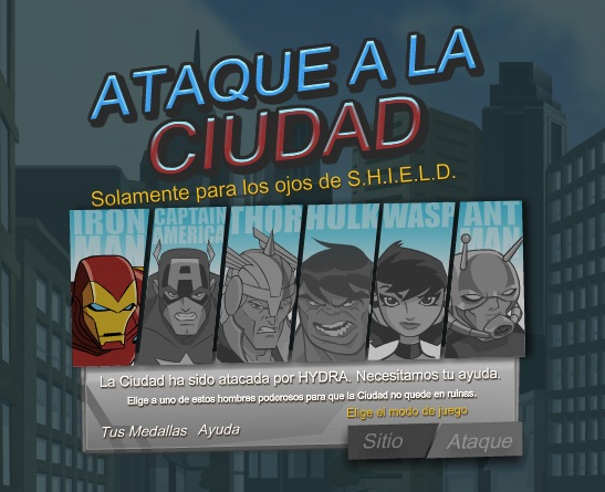Avengers Apara Orasul