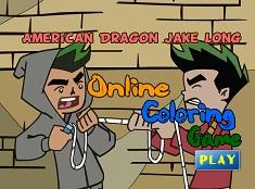 Dragonul American de Colorat
