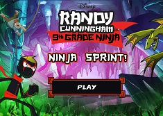 Randy Cunningham Ninja Sprint