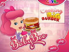 Bebelusa Boo Hamburgerul Delicios