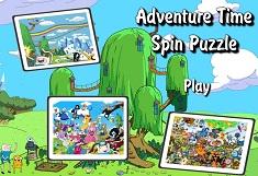 Finn si Jake Puzzle Rotativ