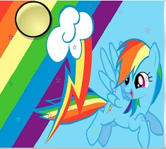 Rainbow Dash Stele Ascunse