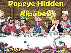 Popeye Litere Ascunse