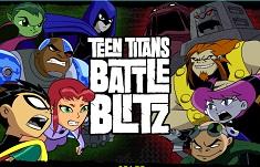 Tinerii Titani Battle Blitz