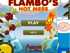 Finn si Jake Aventura lui Flambo