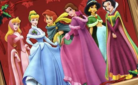 Printesele Disney Puzzle