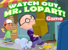 Manny si Domnul Lopart