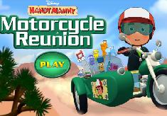 Manny cu Motocicleta