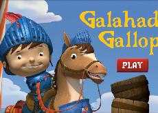 Mike si Galahad la Concurs
