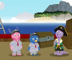 Backyardigans Aventura Piratilor