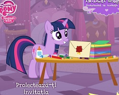 Twilight Sparkle Invitatie Regala