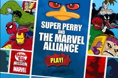 Agent P Alianta cu Eroi Marvel