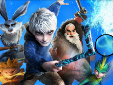 Rise of The Guardians Litere Ascunse
