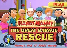 Manny Iscusitul Munca la Garaj