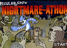 Mordecai si Rigby vs Zombi