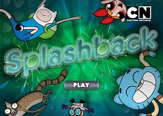 Cartoon Splashback