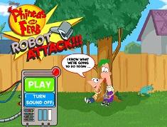 Phineas si Ferb Atacul Robotilor