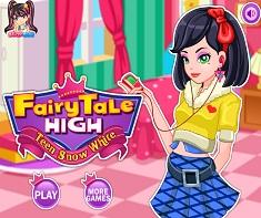 Alba ca Zapada in Fairy Tale High